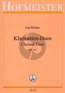 Richter Leichte Duette Vol.1 2 Klarinetten