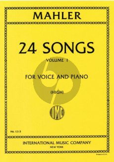 Mahler 24 Songs vol.1 (High Voice) (No.1-6)