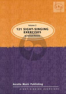 121 Sight Singing Exercises Vol.2