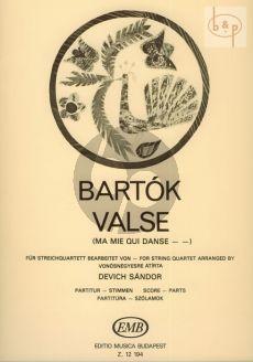 Valse (Ma mie qui dance) (from 14 Bagatelles)