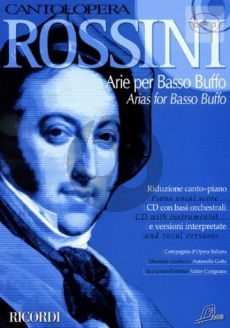 Arias for Basso Buffo (Voice-Piano)