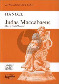 Handel Judas Maccabeus HWV 63 (Soli-Choir-Orch.) Vocal Sore