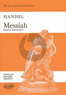 Handel Messiah (Edited by Watkins Shaw) Vocal Score (Novello)