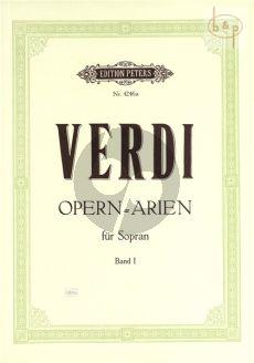 Ausgewahlte Opern Arien vol.1 (Sopran)