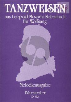 Tanzweisen aus L.Mozart's Notenbuch fur Wofgang