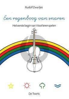 Zwartjes Een Regenboog van Snaren Viool (Het eerste begin van viool leren spelen)