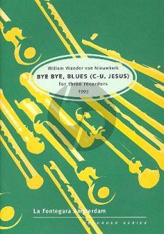 Nieuwkerk Bye Bye, Blues (C-U, Jesus) (1993) (ATB) (Score/Pa)