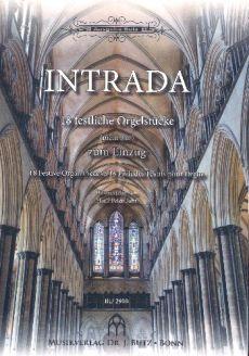 Intrada (18 festliche Orgelstücke (nicht nur) zum Einzug / 18 Festive Organ Pieces / 18 Préludes Festifs pour Orgue (Ped.))