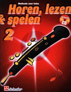 Horen, Lezen & Spelen Vol.2 Methode Hobo (Bk-Cd)