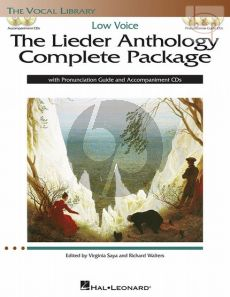 The Lieder Anthology Complete Package (Low Voice)