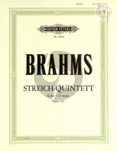 Quintett G-dur Op.111 (2 Vi.- 2 Va.-Vc.)