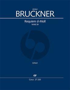 Bruckner Requiem d-Moll WAB 39 Soli-Chor-Orchester (Klavierauszug) (Anselm Eber)