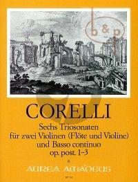 6 Triosonaten Op.Post. Vol.1 (No.1 - 3)