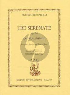 Carulli Serenata Op.96 No.3 G-major 2 Guitars