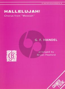 Handel Hallelujah (Chorus from Messiah) for Organ (arr. Bryan Hesford)