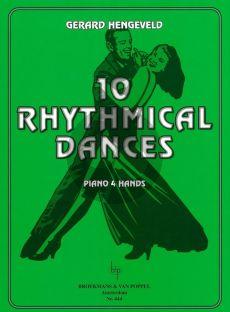 Hengeveld 10 Rhythmical Dances Piano 4 hds