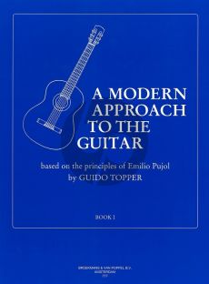 Topper Modern Approach to the Guitar Vol.1 (Based on the Principles of Emilio Pujol)