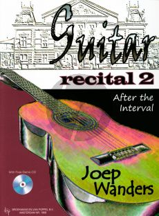 Wanders Guitar Recital Vol.2 (After the Interval) (With TAB) (Bk-Demo Cd)