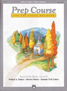 Alfred Prep Course Sacred Solo Book Level F