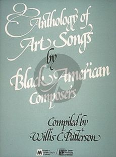 Album Anthology of Art Songs by Black American Composers Piano/Vocal/Guitar