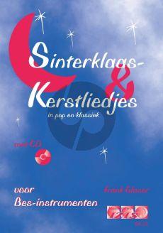 Glaser Sinterklaas en Kerstliedjes in Pop en Klassiek Bes instr. (Klarinet-Trompet-Sopraan/Tenor Saxofoon) (Bk-Cd)