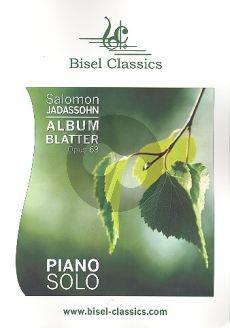 Jadassohn Albumblätter Op. 63 Klavier (Jenni Pinnock)