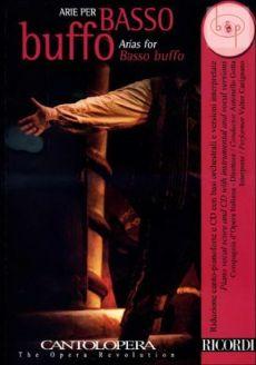 Arias for Basso Buffo (Voice-Piano)