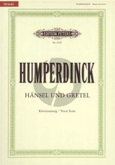 Humperdick Hansel und Gretel KA (dt.) (Horst Gurgel)