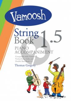 Gregory Vamoosh String Book 1.5 Piano Accompaniment