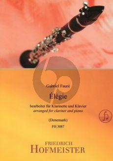 Faure Elegie Op.24 Clarinet[Bb]-Piano (arr. Mark Denemark)