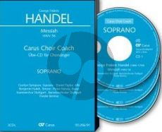 Handel Messiah HWV 56 Soli-Choir-Orch. Tenor 3 CD's (english) (Carus Choir Coach)