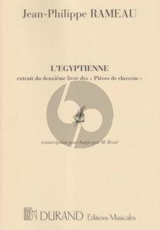 Rameau L'Egyptienne pour Harpe (Henriette Renie)