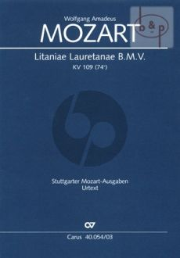 Litaniae Lauretanae KV 109[74e] (SATB soli- SATB- 2 Vi.-Bc.[3 Trb.])