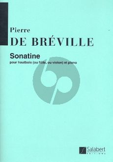 Breville Sonatine Hautbois[ou Fl./V.]-Piano
